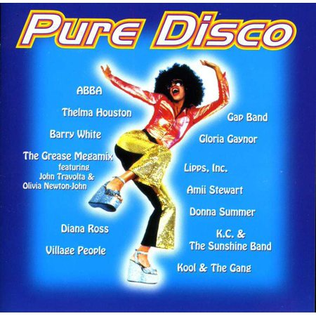 Pure Disco / Various (CD) - Disco Of The 70s