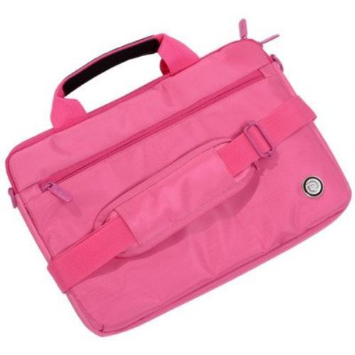 "Digital Treasures Slipit! Select Carrying Case For 11.6"" Netbook - Pink - Weather Resistant, Scratch Resistant - Fabric - Textured (09141_2)"