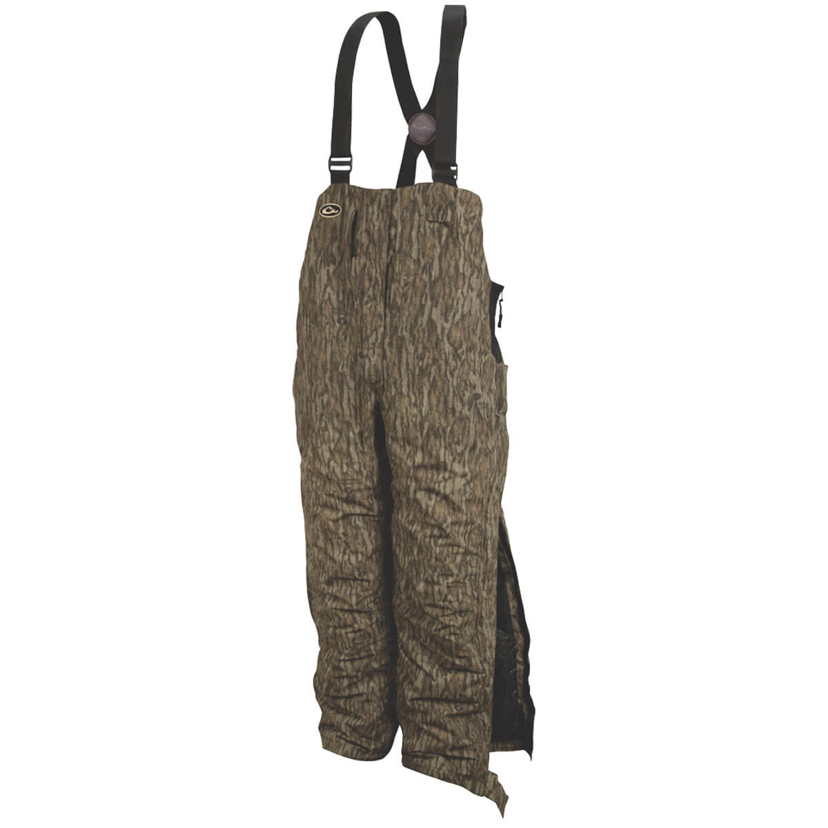 Drake Women's LST Insulated Hunting Bib Large Bottomland by Drake Waterfowl Systems