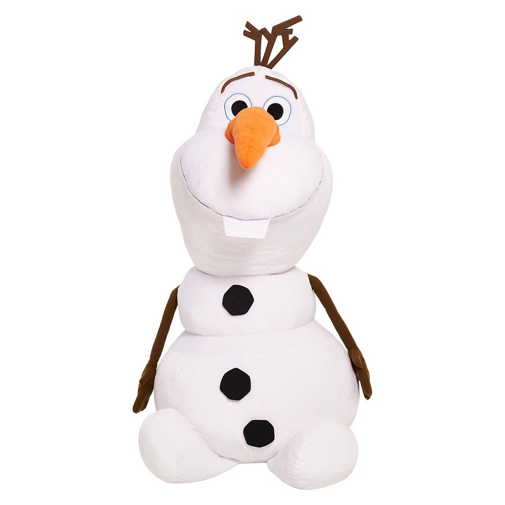"Disney Frozen Olaf Super Jumbo Plush 48"" 4' Tall Stuffed Snowman Display"