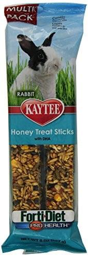 Kaytee Forti-Diet Pro Health Honey Rabbit Treat Sticks, 8 Oz, 2 Ct by Kaytee