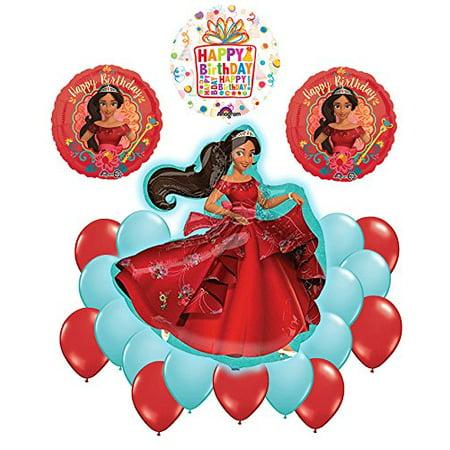 Elena Of Avalor 21 pc Happy Birthday Party Balloon Supplies Decoration Kit](21 Birthday Supplies)