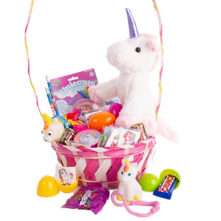 Mickey Easter Basket (Mystical Unicorn Theme Filled Girls 31pc 18
