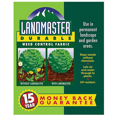 Easy Gardener 301041 3' X 50' Landmaster 15 yr Durable Weed Control Fa