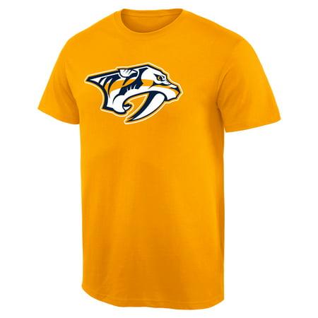 Nashville Predators Team Primary Logo T-Shirt - (Mens Warehouse Nashville)