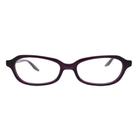 Barton Perreira BP Raynette PLU/SIL Plum Silver Plastic Eyeglasses 51mm (Barton Perreira Titanium)