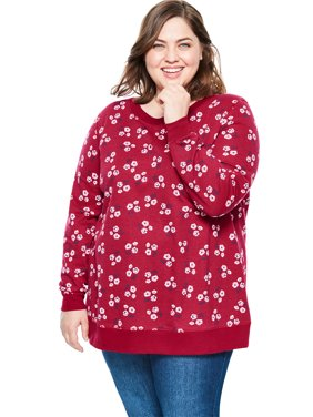 Plus Size French Terry Sweatshirt