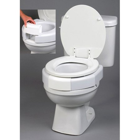 Image of Ableware 725790002 Secure-Bolt Elevated Toilet Seat