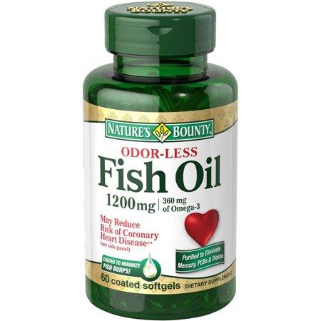 Nature S Bounty Fish Oil Coated Softgels