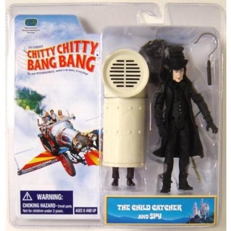 Chitty Chitty Bang Bang Two Pack Figure Child Catcher &