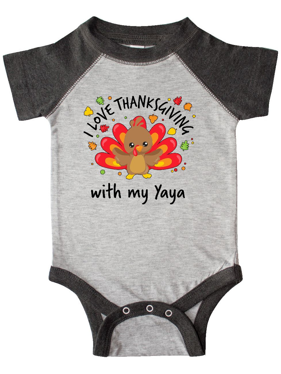 4 Preemie and Newborn Infant Sizes Unisex Baby Happy Thanksgiving Clothing Set