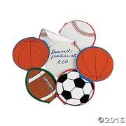 Sport Ball Notepads (2Dz) - Party Favors - 24 Pieces