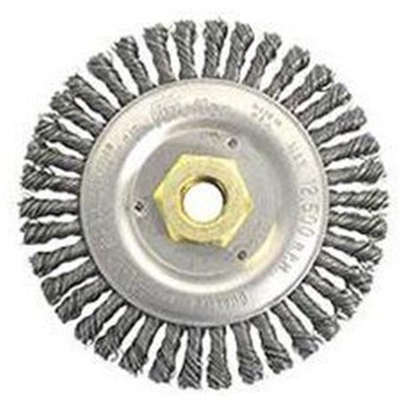 Dually 804-79814 6 x 0.023 x 0.62 in. STB-630 Stainless Steel Wheel Brush - 11 UNC Cender Hole - Pack of 5 - image 1 of 1