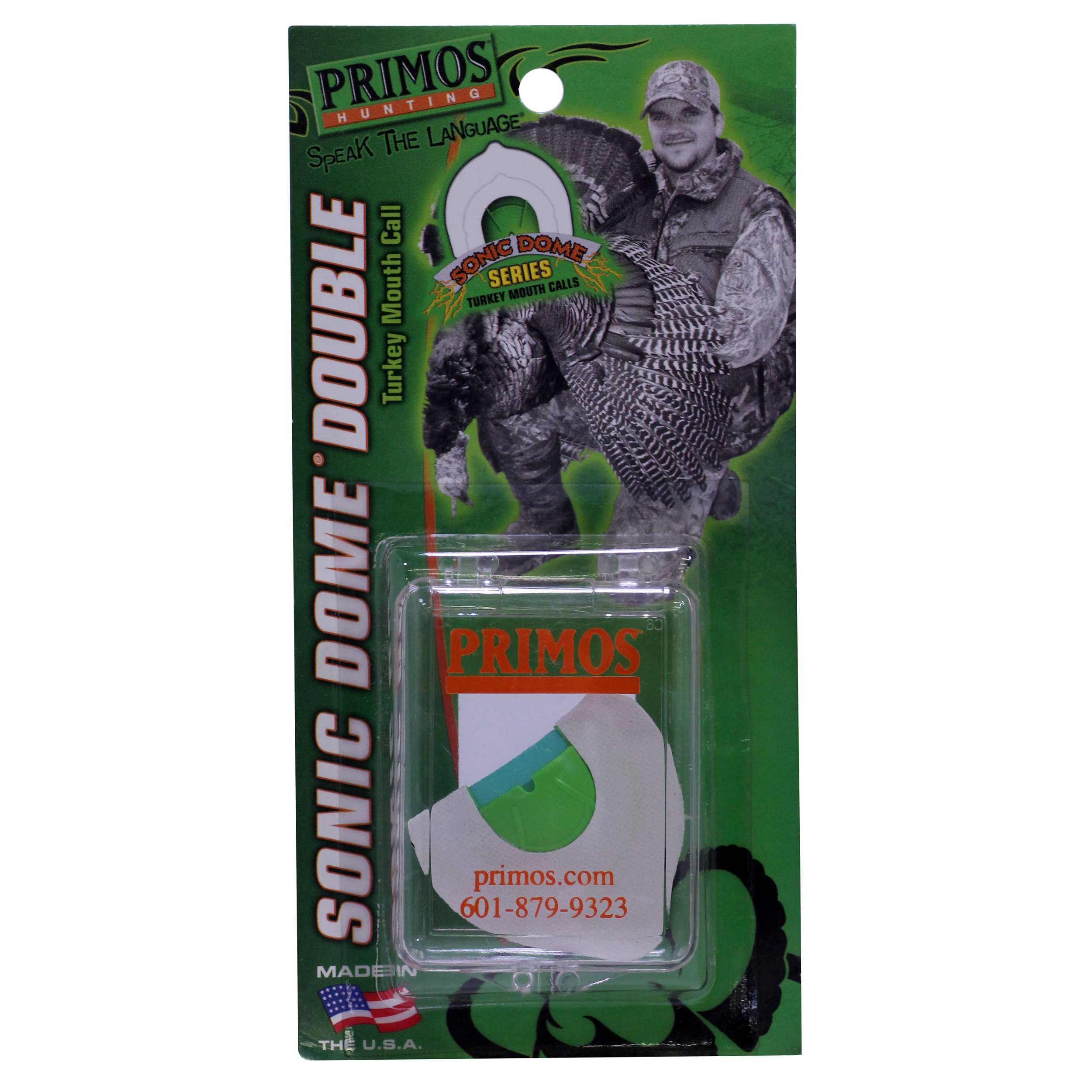 Primos Turkey Mouth Call Sonic Dome Double