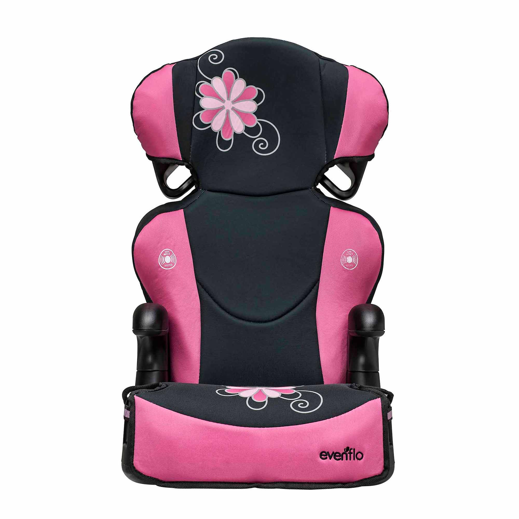 evenflo big kid sport high back booster car seat danica walmartcom