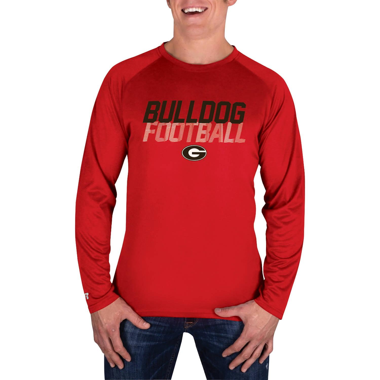 NCAA Georgia Bulldogs Men's Long Sleeve Impact T-Shirt