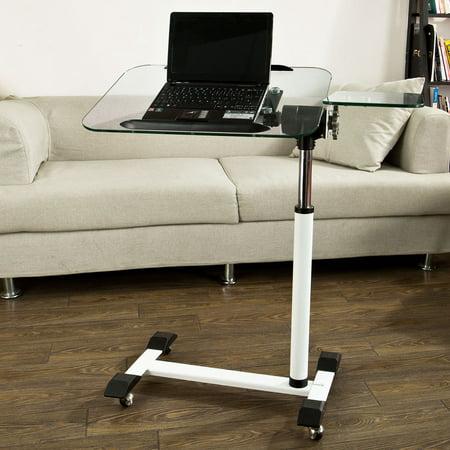 SoBuy FBT07N5, Tempered Glass Laptop Table, Bed Sofa Side ...