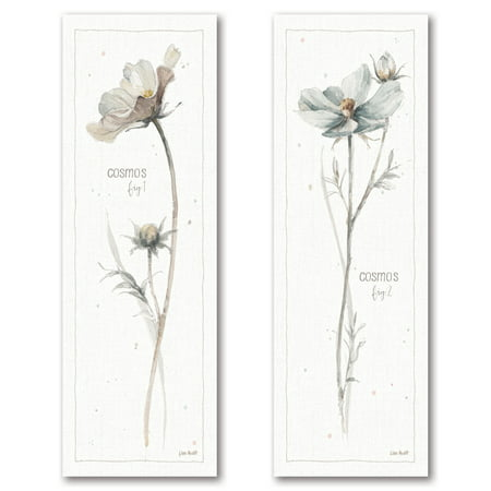 Gango Home Decor Shabby-Chic A Country Weekend VI & VII by Lisa Audit (Printed on Paper); Two 6x18in Unframed Paper Posters