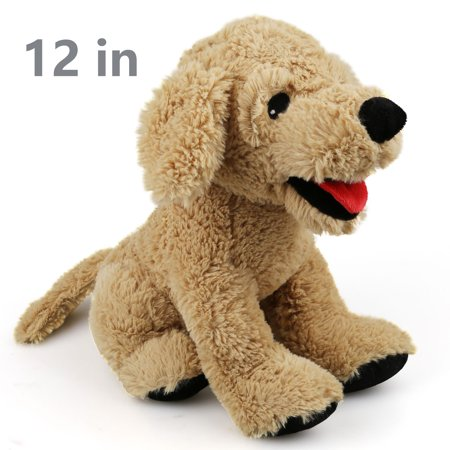 Dog Stuffed Animals, 12 in Soft Cuddly Golden Retriever Plush Toys, Stuffed Puppy Dog Toys Gift for Kids, Dog, - Cuddly Cow