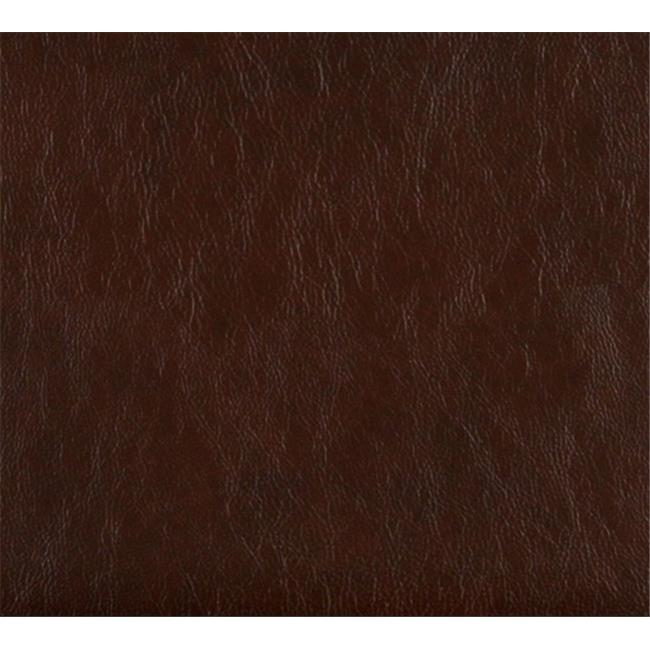 Designer Fabrics G477 54 in. Wide Chestnut Brown, Upholstery Grade Recycled Leather