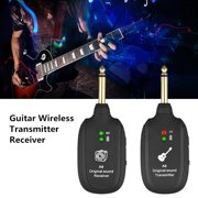 Getaria Wireless Guitar System Transmitter Receiver for Electric Guitar Bass Vio Guitar Wireless Transmitter Receiver