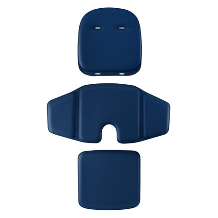 OXO Tot Sprout Chair 3 Piece Replacement Cushion Set, Navy ()