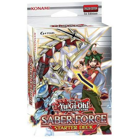 Yu-Gi-Oh Starter Deck Saber Force