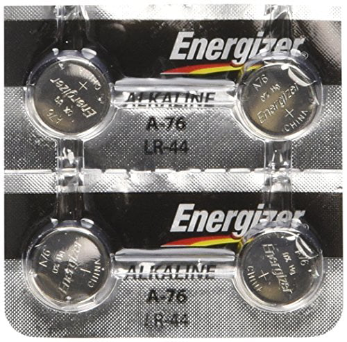 Energizer LR44 1.5V Button Cell Battery (4-Pack) by Energizer Batteries