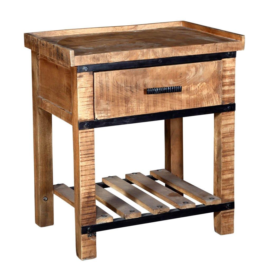 Sneha 1-Drawer Nightstand/Bedside Table - image 2 de 3
