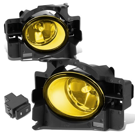 - For 2008 to 2010 Nissan Altima 2 -Door Coupe Pair Bumper Fog Light / Lamps+Switch+Blubs Amber Lens 09 Left+Right