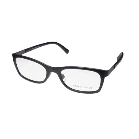 New Giorgio Armani 5013 Womens/Ladies Designer Full-Rim Eggplant / Dark Gray Frame Demo Lenses 52-17-135 (Giorgio Armani Frames Of Life Glasses)