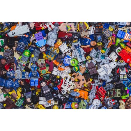 LEGO Minifigure Mystery Grab Bag (5 Random Figures) - Lego Custom Halloween Minifigures