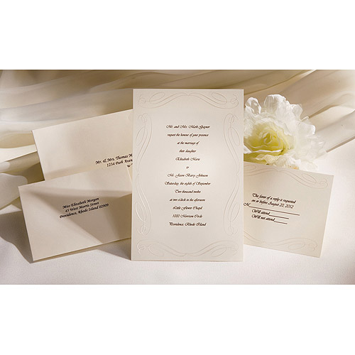 Wilton Wedding Invitation Kit 50 ct 1008175 Walmartcom