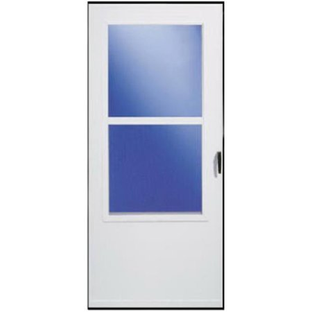 029831U 32 x 81 in. White Solid Wood Core Storm