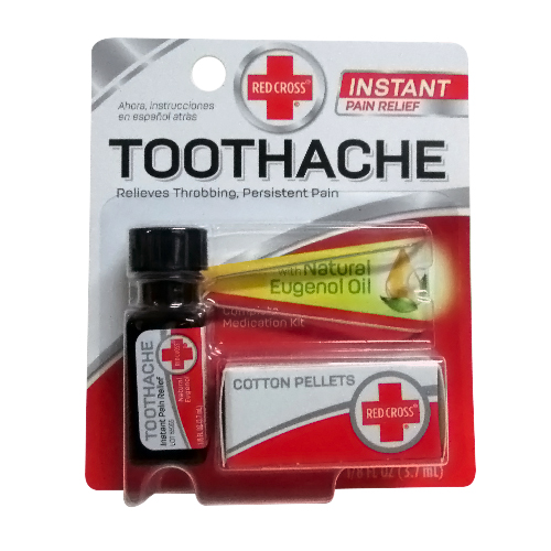 Red Cross Complete Medication Kit For Toothache - 1 Ea, 2 Pack