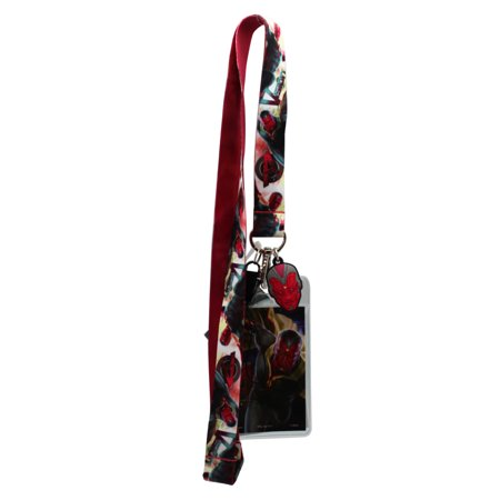 Marvel Comic's Avengers: Age of Ultron The Vision Lanyard and Card Holder