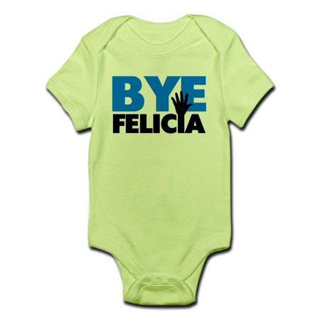 d1260b848856 CafePress - CafePress - Bye Felicia Hand Wave Bold Blue Infant ...