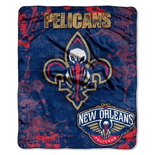 New Orleans Pelicans Plush Fleece Throw Blanket