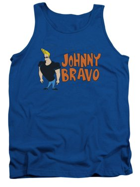 6948cab98d5c6b Product Image Johnny Bravo Cartoon Network Cartoon TV Series Johnny Logo Adult  Tank Top Shirt