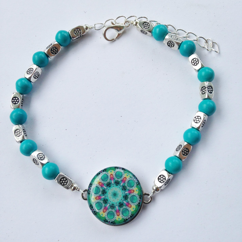 Par 4 Collection Ball Marker Ankle Bracelet by One Putt Designs