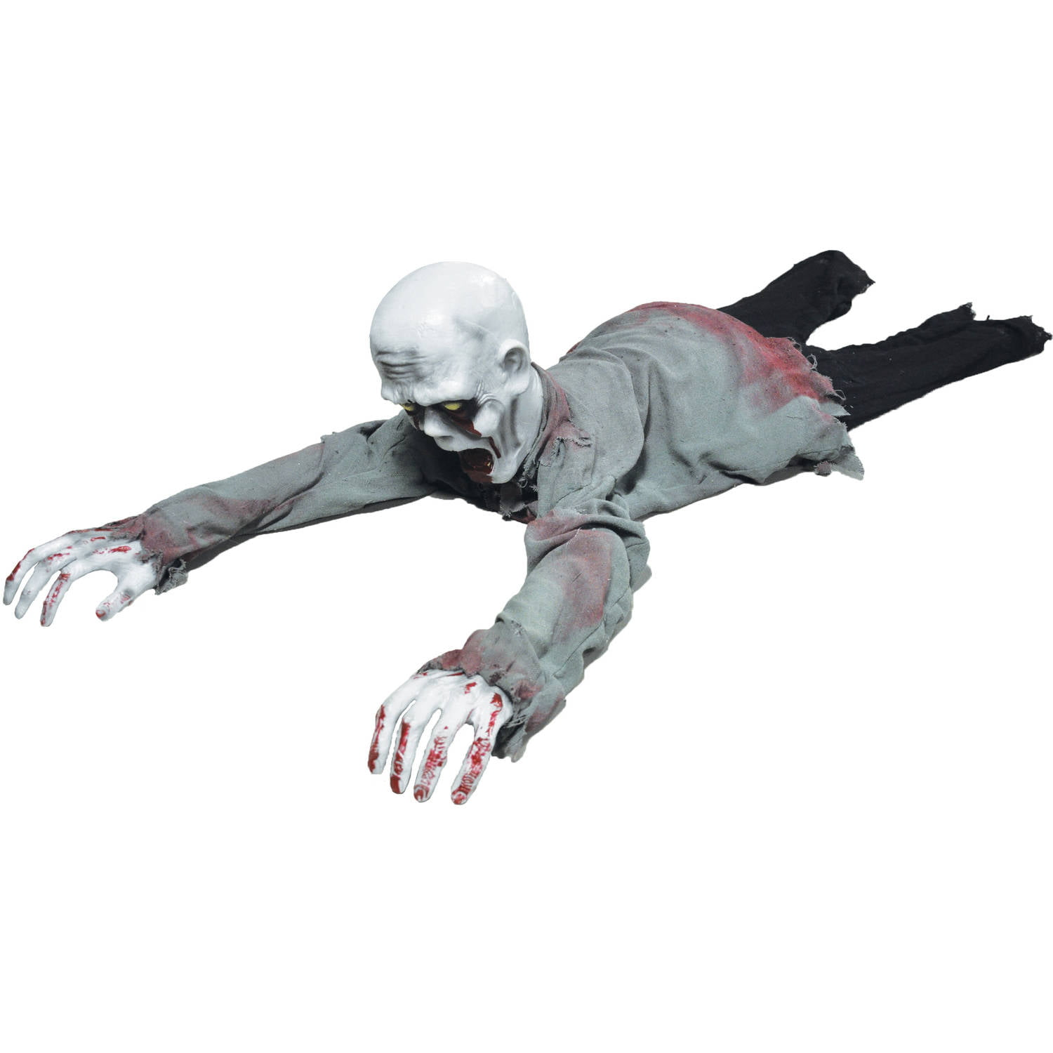 crawling zombie animated halloween decoration walmartcom - Animated Halloween Decorations