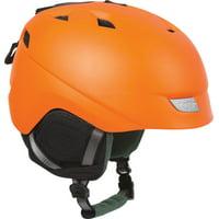 Lazer Effect Winter Helmet: Fluoresecnt Orange MD