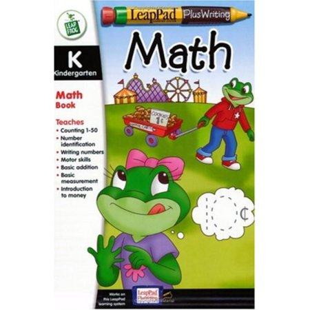 LeapPad Plus Writing Kindergarten Math Book Plus Software