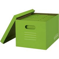 Bankers Box Basic-Strength File Storage Boxes, 8-Pack