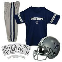 Franklin Sports NFL Dallas Cowboys Youth Licensed Deluxe Uniform Set, Medium