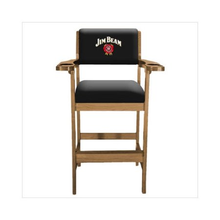 Jim Beam Spectator Chair With Oak Finish Walmart Com