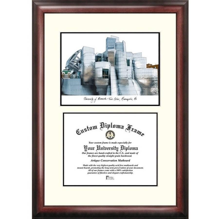 "University of Minnesota 8.5"" x 11"" Scholar Diploma Frame"