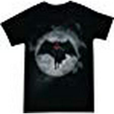 Batman V Superman in Bat Signal Men's Black Shirt, Large](University Of Victoria Batman)