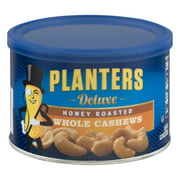 Planters Deluxe Honey Roasted Whole Cashews, 8.25 oz