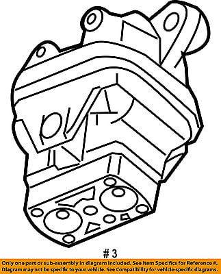 Chrysler Oem Engine Motor Mount Torque Strut 4578194ae